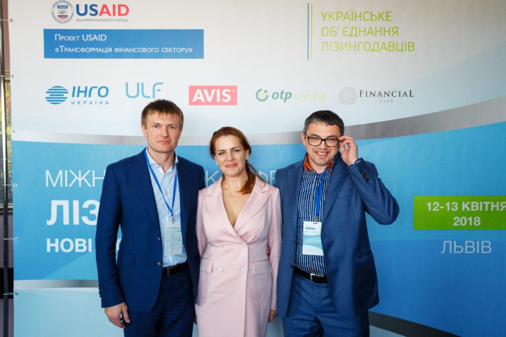 Руководители компаний тройки-лидеров лизингового рынка Украины